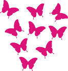25 Small butterfly stickers- for walls or cars