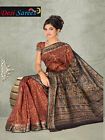Printed Indian bollywood sarees wedding sari fabric curtain drapes London 2041