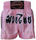MUAY THAI BOXING KICK BOXING SHORTS PINK