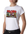 Slot Machine Winning Gambling Ladies Tee Shirt