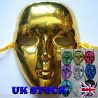 Full face mask metallic club robot dance -Choose colour