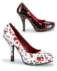 Halloween Fancy Dress shoes Blood Spattered BNIB UK 3-9