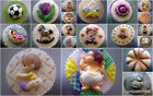 Cupcakes Tops/Silicone Molds/Sugarcraft moulds/Various