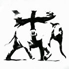 Banksy Heavy Weaponry Elephant Bomb reusable wall stencil various size options