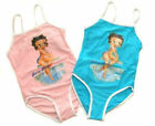 NWT Betty Boop Girls Swimsuit Bathers Cossie Size 4 6 8 10 12  ( Pink $13.99 AUD on eBay