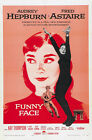 "Classic Movie - Funny Face- 24""x36"" Giclee Print on Canvas"