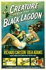 """Classic Movie -Creature From The Black Lagoon- 24""""x36"""" Giclee Print on Canvas"""