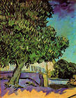 "Vincent Van Gogh- Chestnut Tree in Blossom - 20""x26""   on Canvas"