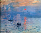 "Impression Sunrise by Claude Monet - 20""x26"" Art on Canvas"