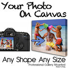Photo On Canvas Any Shape Any Size