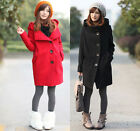 New Womens Fashion Winter Hooded Trench Coats Laides Outerwear Warm Jacket 1691#