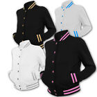 ► URBAN CLASSICS ►► LADIES DAMEN LADY 2T METALLIC COLLEGE JACKE XS, S, M, L, XL