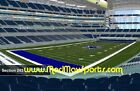 2 of 4 PSL Tickets DALLAS COWBOYS Personal Seat SECTION 243 Row 2 PAID IN FULL