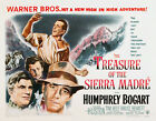 "Humphrey Bogart -THE TREASURE OF THE SIERRA MADRE - 24""x36"" Classic Movie Poster"