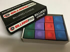 12 BOX GREEN, BLUE, RED, PURPLE SNOOKER - POOL TORNAMENT QUALITY PIONEER CHALK