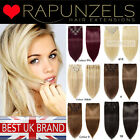 "20"" full head clip in 100% remy human hair extensions, 100g blonde, brown, black"