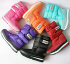 Women's Girls Winter Warm Lining Snow Joggers Boots Shoes 6 Colors free ship!