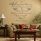 Marylin Monroe Quote Vinyl Wall Art Sticker Decal, Lounge Bedroom, Hall, Kitchen