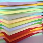 50 SHEET 170gm  A4 COLOURED CARD CHOICE OF 23 COLS PASTELS INTENSIVES. CREAMS * £3.25 GBP on eBay