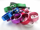 34.9 mm Bike Cycle seat post clamp collar quick release  6 colours