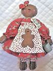 Primitive Raggedy Gingerbread Doll~PATTERN #31~By Ginger Creek Crossing!