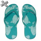 SHORESIDE KOI CARP SANDALS FLIP FLOPS AQUA JAPANESE TATTOO FISH BEACH SHOES NEW
