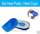 Heel Gel Cushion Pads Cups Shoes Insoles Inserts Footcare Running Shoes Sneakers