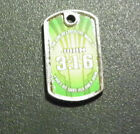 """Christian Mini Dog Tag, Choice of Chain, Key or Necklace, 4.5"""" to 36"""" Scripture"""