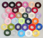 15mm x 5m; Green; Double Sided; Satin; Ribbon; Wedding; Favours Crafts; Freepost