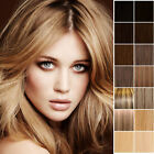 Clip In Remy Human Hair Extensions Full Head Any Colour Long UK 16 18 20 22 24