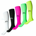 More Mile Compression Sports Running Long Calf Socks Mens Ladies Womens Unisex