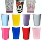 Paper Party Cups - Plain or Themed - Tableware All colours