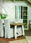 RECLAIMED SOLID WOOD DINING TABLE AND CHAIRS PAINTED SHABBY CHIC EXTENDING*SALE*