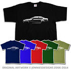 STYLISH 90s BMW M3 E46 INSPIRED T-SHIRT - CHOOSE FROM SIX COLOURS & SIZES S-XXXL