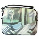 Gola Redford Unisex Vintage White Black Multi Messenger Shoulder School Bag New