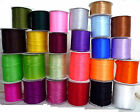 """10 yd / 9.1 meters Satin Ribbon Trim Double Faced 1/8"""" / 3.5mm width Upick - SA"""