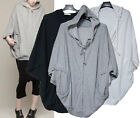 h100 SLouchy OVersize style BAtwing sleeve HOodie