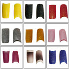 50 Glitter French Acrylic Nail Tips 28 Stunning Colours Available Fast Delivery