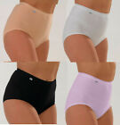 2 Pack Womens/Ladies Underwear Briefs Tummy Slimmers Lycra, Various Colours
