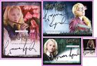 Luna Lovegood Auto Evann Lynch OP HBP DH HV SDCC San Diego Comic Harry Potter
