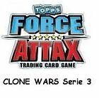 FORCE ATTAX Clone Wars Serie 3 (4) - FORCE MEISTER 225-240 - auswählen - deutsch
