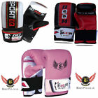 BOOM Boxing Punch Bag Mitts MMA Gloves Fight Muay Thai Grappling Pad Rex