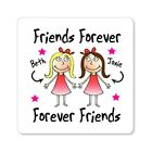 Personalised Fridge Magnet Best Friends Forever Christmas Birthday Present Gift
