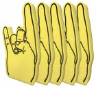 Giant Rock Outline Print Foam Hand Pack of 5