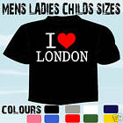 Occasion, I LOVE HEART LONDON T-SHIRT ALL SIZES & COLOURS  d'occasion  Royaume-Uni