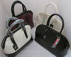 RARE ♥ PATENT TWIN HANDEL BAG ♥ BNWT ♥ PRIMARK ♥ WITH CHARMS ♥
