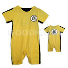 Bruce Lee Yellow KungFu Jumpsuit for Baby Child Masquerade Suit Party Costume