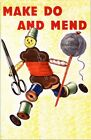 Wartime Make Do And Mend Poster A3 / A2  Reprint