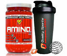 BSN AMINO X 435g ENDURANCE & RECOVERY BCAA FORMULA MUSCLE PERFORMANCE + SHAKER