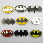New Punk Fashion Superhero Batman Mens Metal Belt Buckle Leather Waist Belt Gift